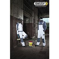 Dassy Brace Overall Versailles with Knee Pockets (400124)