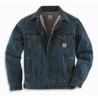 Carhartt Denim Jeans Jacket Sherpa Lined (CAR-J292)