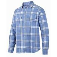 Snickers Flannel Checked LS Shirt RuffWork (SNI8502)