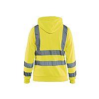 Blaklader Dames Hooded Sweatshirt High Visibility (BLA33471974)