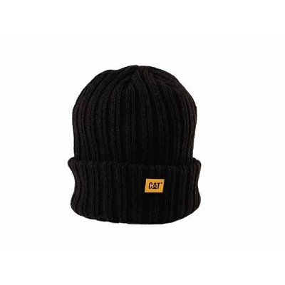 Cat® Black Beanie (CATC443)