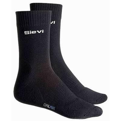 Sievi Coolmax Socks Black 36-46 (SIE00-99356-003-00M)