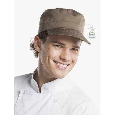 Chaud Devant Chef Army Cap Taupe (CHA399)