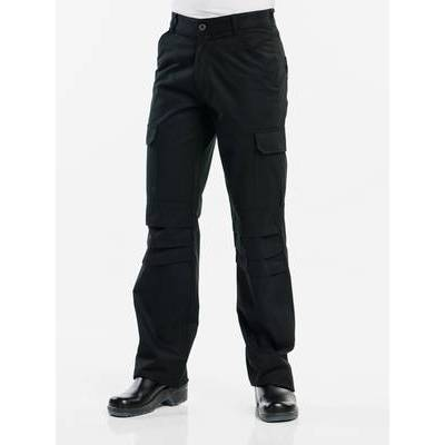 Chaud Devant Chef Pants Worker Black (CHA157)