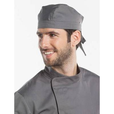 Chaud Devant Chef Hat Bandana Grey (CHA312)