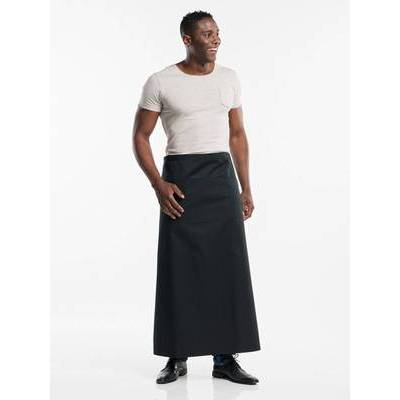 Chaud Devant Apron Black W100-L100 3-pockets (CHA473-8)