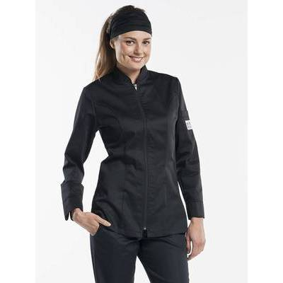 Chaud Devant Chef Jacket Lady Monza Black (CHA953)