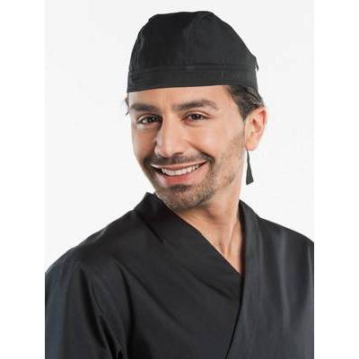 Chaud Devant Chef Hat Bandana Black (CHA384)