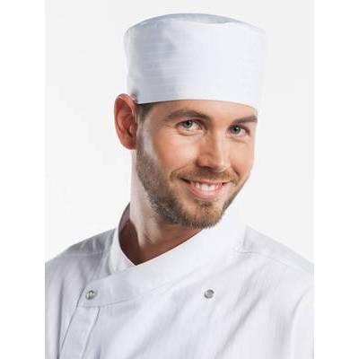 Chaud Devant Chef Hat Bandi Santino White (CHA373)