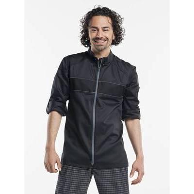 Chaud Devant Chef Jacket Guzzi Black (CHA927)