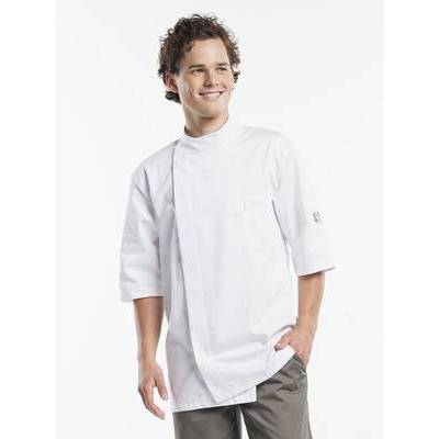 Chaud Devant Chef Jacket Bacio White Short Sleeves (CHA938)