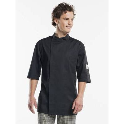 Chaud Devant Chef Jacket Nova Black Short Sleeves (CHA942)
