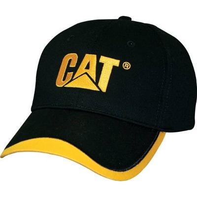 Cat® Black Cap with logo (CATC1128007)