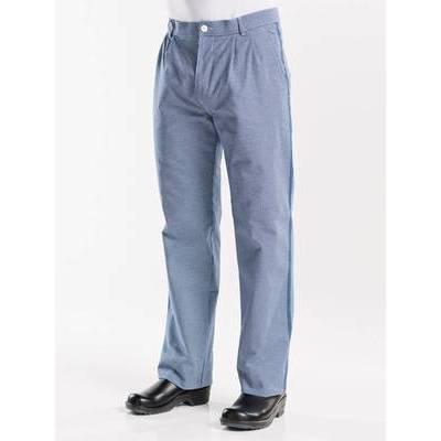 Chaud Devant Chef Pants Pepita Blue (CHA128)