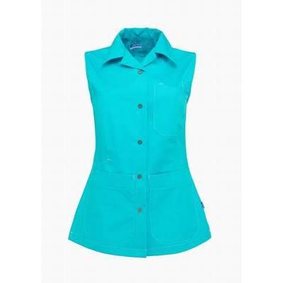 De Berkel Dames Bodywarmer Damaris Turquoise (DEB3097347)