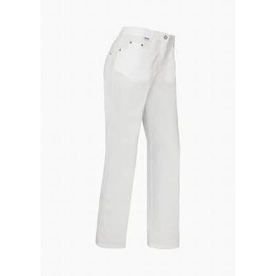 De Berkel Damesbroek Odilia Jeans-look Wit (DEB7439326)