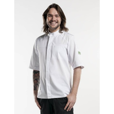 Chaud Devant Chef Jacket Salerno White Short Sleeve (CHA212)