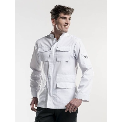 Chaud Devant Chef Jacket Parka White (CHA285)