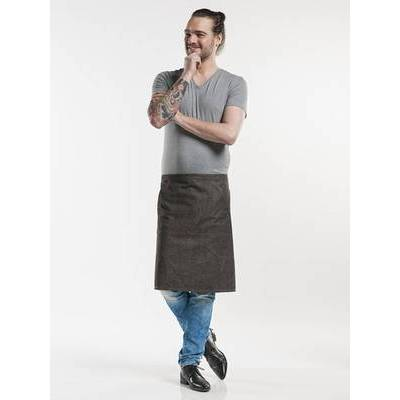 Chaud Devant Apron Pouch Denim Brown W80 - L60 (CHA423)