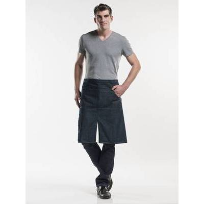 Chaud Devant Apron Multipocket Blue Denim (CHA484)