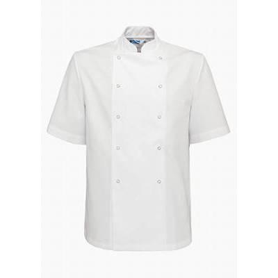 De Berkel Chef Jacket Hilton Ss/Pb White (DEB2331326)