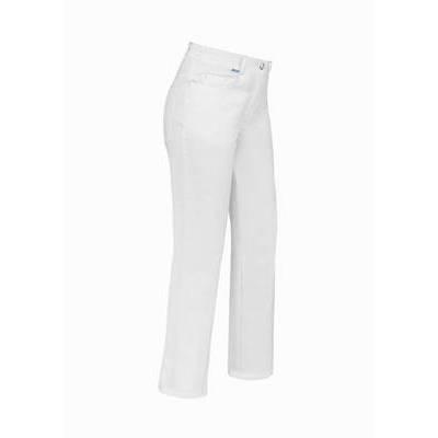 De Berkel Damesbroek Tiny Jeans-look Wit (DEB7051323)