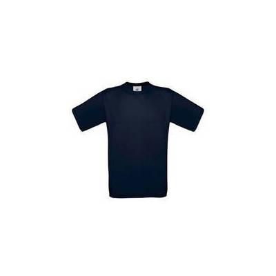 B&C T-Shirt Exact 190 (F&R180.420-NAVY-BRU)