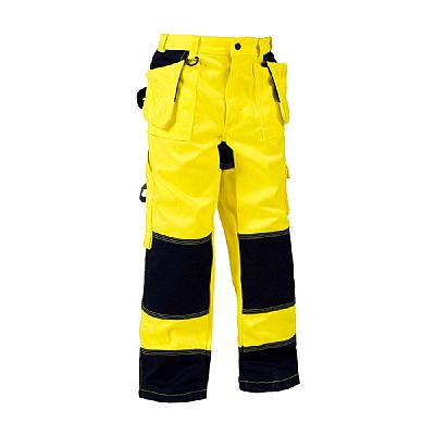 Blaklader Children´s Trousers with Tool Pockets Hi Vis (BLA15241860)