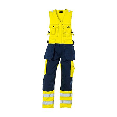 Blaklader Bib Overall High Visibility with Tool Pockets (BLA26531804)
