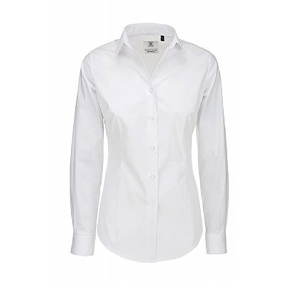 B&C Long Sleeve poplin Shirt (STA-2-ZAAL-BC-LS-POPLIN)