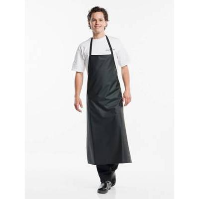 Chaud Devant Bib Apron Waterproof Black (CHA527)