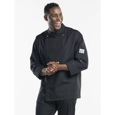 Chaud Devant Chef Jacket Santino Black (CHA216)