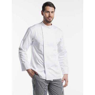 Chaud Devant Chef Jacket Bacio White (CHA229-1)