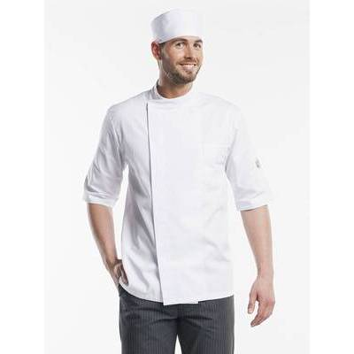 Chaud Devant Chef Jacket Nova White Short Sleeve (CHA273)