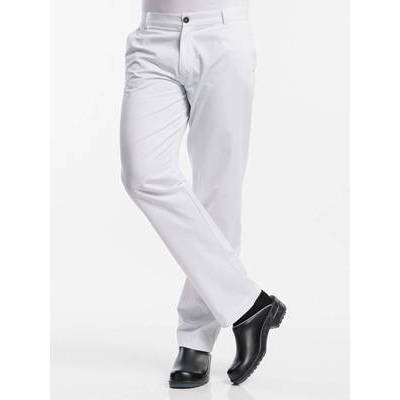 Chaud Devant Chef Pants Bianco (CHA113)