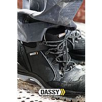 Dassy High Safety Shoes Hermes S3 (10001)