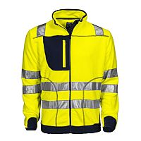 Projob Fleece Jas High Visibility Klasse 3/2 (PRO6303)