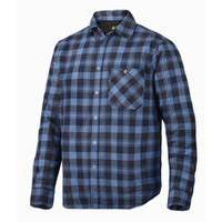 Snickers Padded Flannel Checked LS Shirt RuffWork (SNI8501)