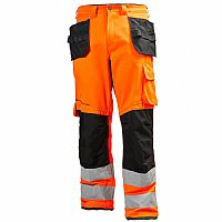 Helly Hansen Alna Work Trousers Tool Pockets High Visibility (HEL77413)