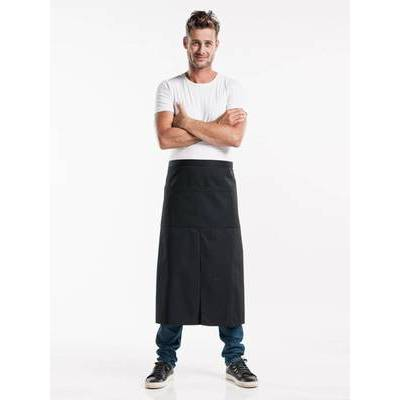 Chaud Devant Apron Black 4-pockets (CHA491)
