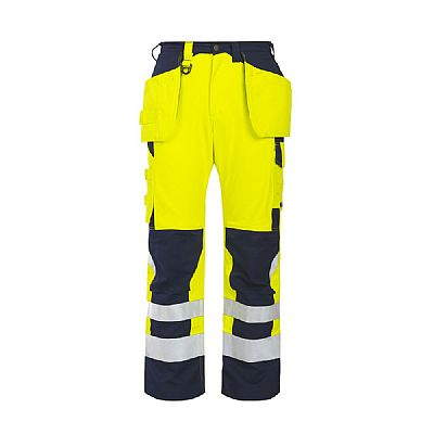 Projob Flame Retardant Trousers Tool Pockets High Vis (PRO8503)