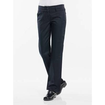 Chaud Devant Chef Pants Lady Black (CHA189)