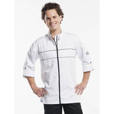 Chaud Devant Chef Jacket Guzzi White (CHA937)