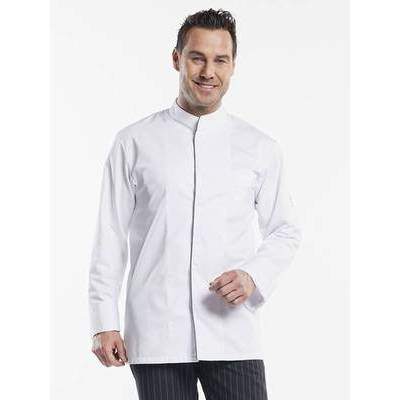 Chaud Devant Chef Jacket Executive Royal White (CHA933)