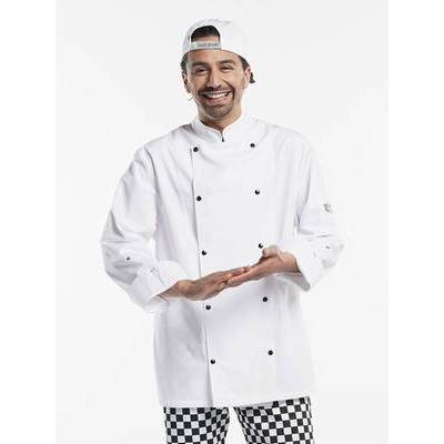 Chaud Devant Chef Jacket Firenze White (CHA969)