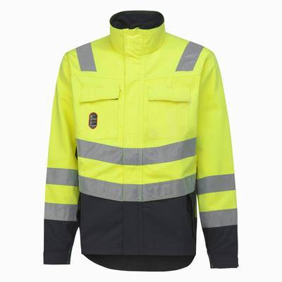 Helly Hansen Anti Flame Jacket Aberdeen High Visibility (HEL76072)