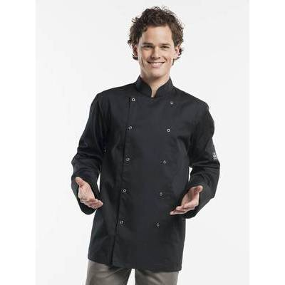 Chaud Devant Chef Jacket Hilton Poco Black (CHA220)