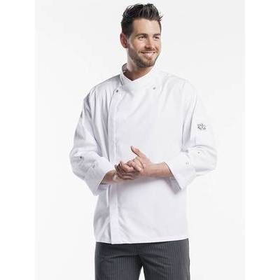 Chaud Devant Chef Jacket Lorenzo White (CHA237)