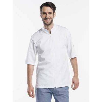 Chaud Devant Chef Jacket Monza short sleeves white (CHA920)