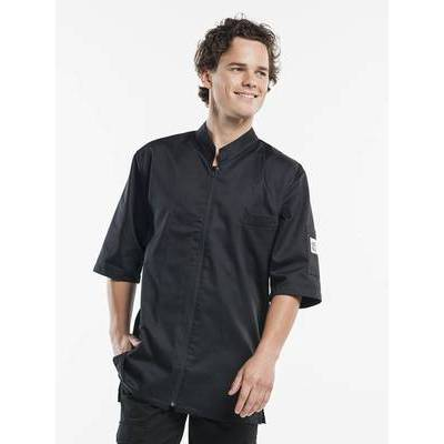 Chaud Devant Chef Jacket Monza short sleeves black (CHA921)